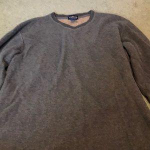 Grey men's sweater